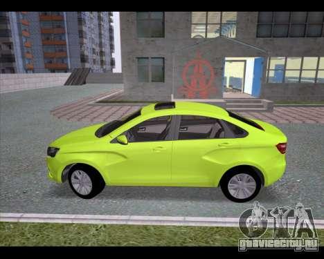 Lada Vesta для GTA San Andreas вид слева