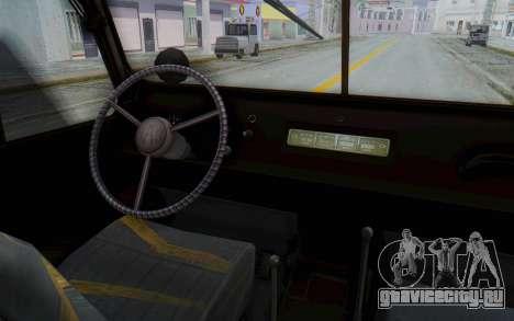 УАЗ-460Б IVF для GTA San Andreas вид сзади