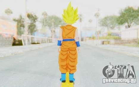 Dragon Ball Xenoverse Female Saiyan SSJ для GTA San Andreas третий скриншот