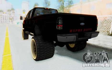 Ford Super Duty Off-Road для GTA San Andreas вид слева