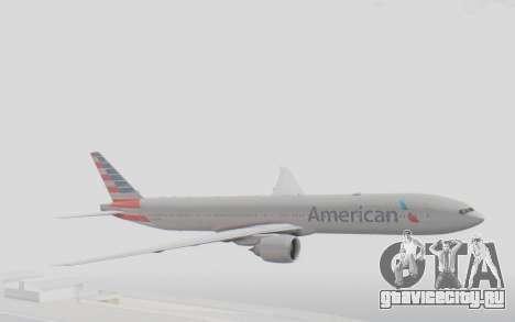 Boeing 777-300ER American Airlines N727AN для GTA San Andreas
