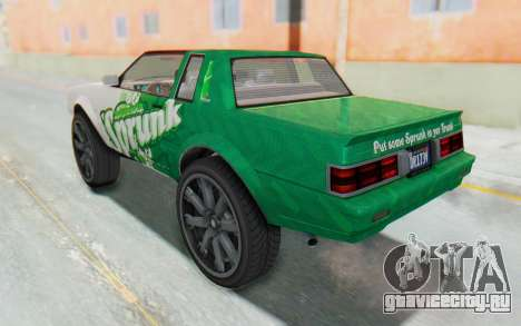GTA 5 Willard Faction Custom Donk v1 IVF для GTA San Andreas