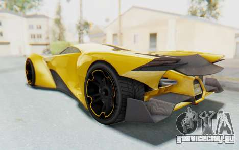 GTA 5 Grotti Prototipo v2 IVF для GTA San Andreas вид слева