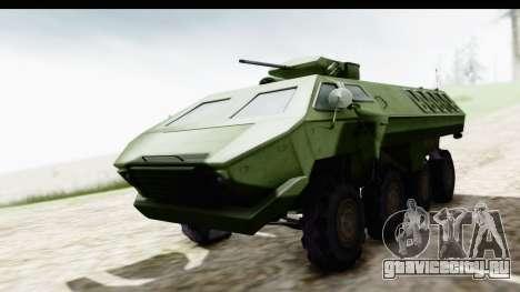 Lazar Serbian Armored Vehicle для GTA San Andreas вид справа