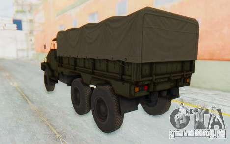 MGSV Phantom Pain BOAR 53CT Truck Roof для GTA San Andreas вид слева