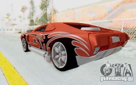 Hot Wheels AcceleRacers 2 для GTA San Andreas вид слева