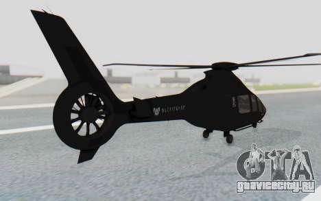 GTA 5 Buckingham Volatus v1 IVF для GTA San Andreas вид слева