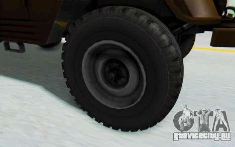 УАЗ-460Б IVF для GTA San Andreas вид справа
