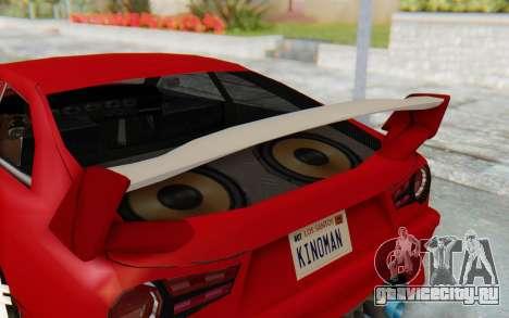 Elegy GT v1 для GTA San Andreas вид сбоку