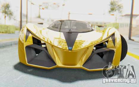 GTA 5 Grotti Prototipo v2 IVF для GTA San Andreas