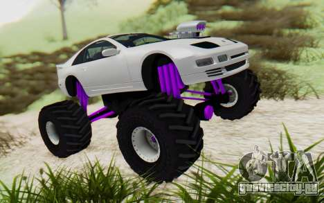 Nissan 300ZX Monster Truck для GTA San Andreas вид справа