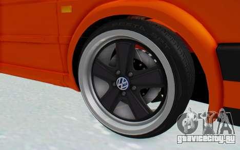 Volkswagen Golf 2 GTI 1.6V для GTA San Andreas вид сзади