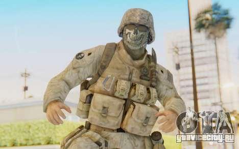 CoD MW2 Ghost Model v3 для GTA San Andreas