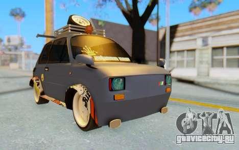 Fiat 126 для GTA San Andreas вид справа