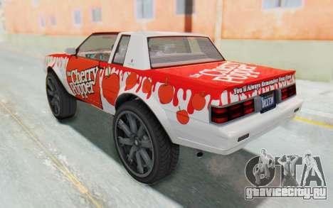 GTA 5 Willard Faction Custom Donk v1 для GTA San Andreas вид сверху