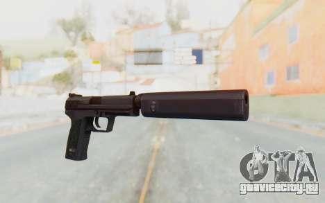 H&K 45 Silenced для GTA San Andreas второй скриншот