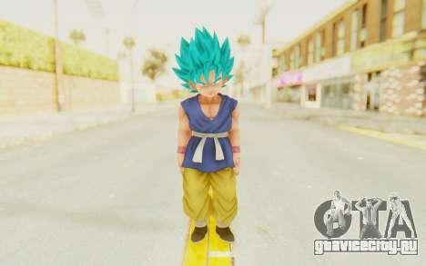 Dragon Ball Xenoverse Goku Kid GT SSGSS для GTA San Andreas второй скриншот