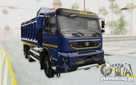 Volvo FMX 6x4 Dumper v1.0 Color для GTA San Andreas вид справа