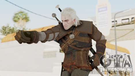 The Witcher 3: Wild Hunt - Geralt of Rivia для GTA San Andreas
