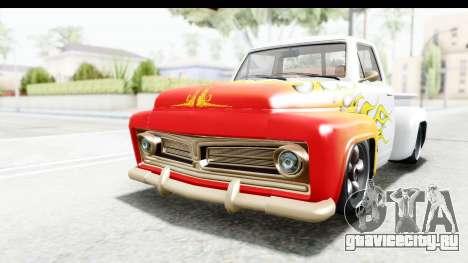 GTA 5 Vapid Slamvan without Hydro для GTA San Andreas салон