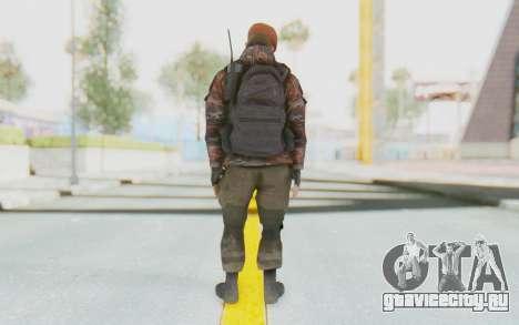 COD MW2 Russian Paratrooper v4 для GTA San Andreas третий скриншот