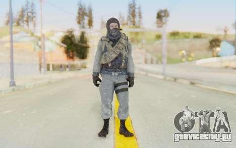 COD BO Bruce Harris Winter для GTA San Andreas второй скриншот