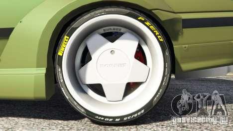 BMW M3 (E36) Street Custom v1.1 для GTA 5 вид сзади справа