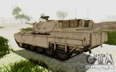 MGSV Phantom Pain M84A MAGLOADER для GTA San Andreas вид справа