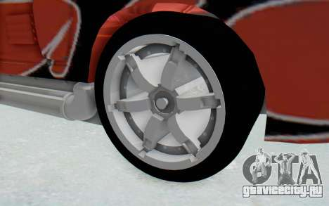 Hot Wheels AcceleRacers 2 для GTA San Andreas вид сзади