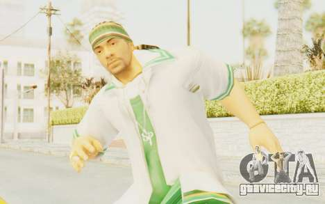 Def Jam Fight For New York - Sean Paul v2 для GTA San Andreas