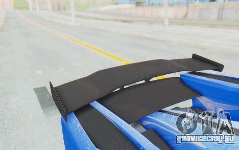 GTA 5 Grotti Prototipo v1 для GTA San Andreas вид изнутри