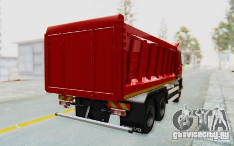 Volvo FMX 6x4 Dumper v1.0 для GTA San Andreas вид слева