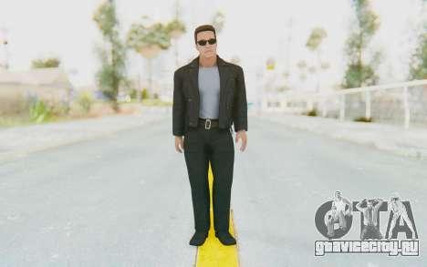 WWE2k16 Arnold Schwarzenegger Terminator для GTA San Andreas второй скриншот