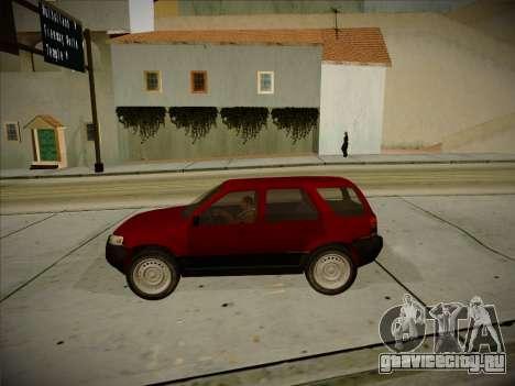 Ford Escape 2005 для GTA San Andreas вид изнутри
