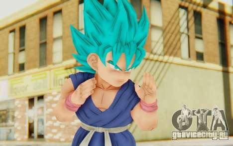 Dragon Ball Xenoverse Goku Kid GT SSGSS для GTA San Andreas