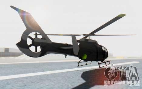 GTA 5 Maibatsu Frogger Civilian IVF для GTA San Andreas вид слева