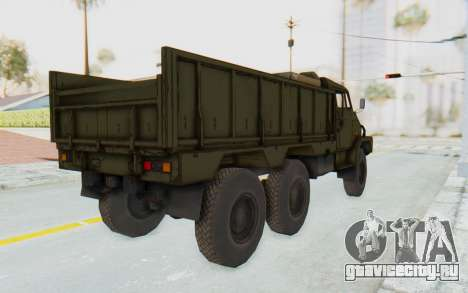 MGSV Phantom Pain BOAR 53CT Truck для GTA San Andreas вид слева