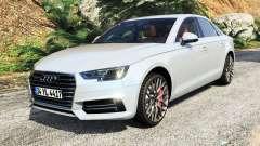 Audi A4 2017 v1.1 для GTA 5