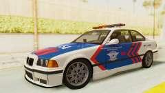 BMW M3 E36 Police Indonesia для GTA San Andreas