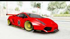 Lamborghini Gallardo Superleggera 2007 для GTA San Andreas