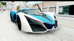 GTA 5 Grotti X80 Proto IVF для GTA San Andreas