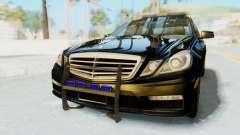 Mercedes-Benz E63 German Police Blue для GTA San Andreas