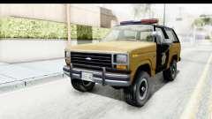 Ford Bronco 1982 Police IVF