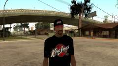 King James T-Shirt для GTA San Andreas