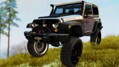 Jeep Wrangler Rubicon 2012 для GTA San Andreas