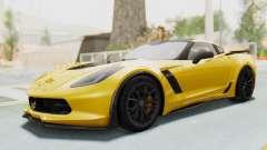 Chevrolet Corvette C7.R Z06 2015 для GTA San Andreas