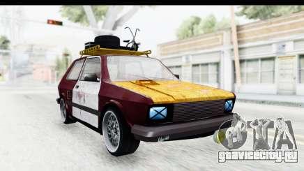 Zastava Yugo Koral Rat Style для GTA San Andreas