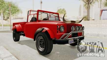 GTA 5 Canis Bodhi IVF для GTA San Andreas