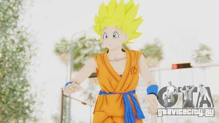 Dragon Ball Xenoverse Female Saiyan SSJ для GTA San Andreas