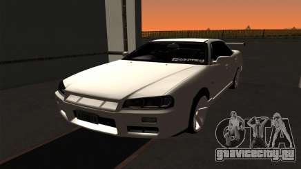 Nissan Skyline ER34 GT-R для GTA San Andreas